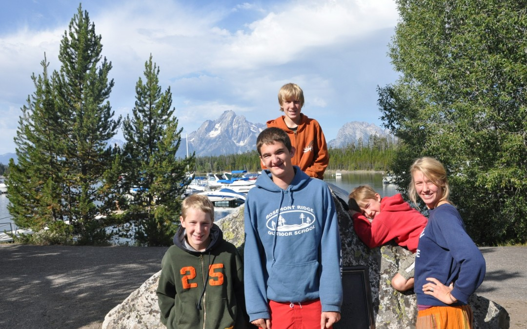Where are all the yellow stones?. . . The Family Road Trip ~ to YELLOWSTONE – 8 packed in a van – priceless