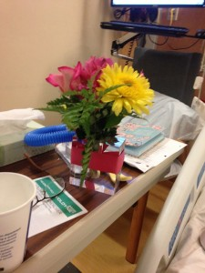 Journal and flowers hospital