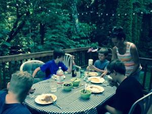 Nancy VB and jh kids