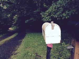 mailbox farther away