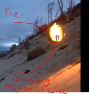 tire burning explain