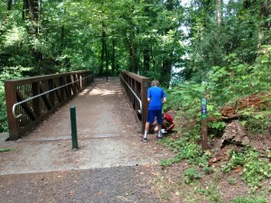 burnside park west linn passport clue finding