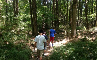 Canal Acres Nature Park is destination of 8th Outdoor Adventure with Kids – Summer 2015