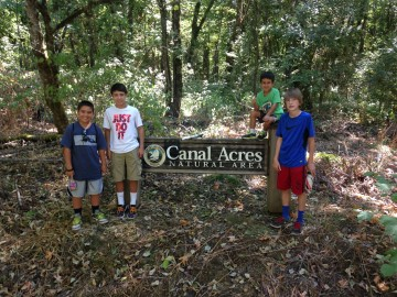 Canal woods sign four boys summer 2015 adventure IMG_2646
