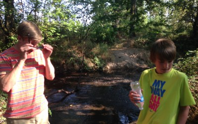 3-Creeks Natural Area – No. 7 Outdoor Adventure with Kids Summer 2015