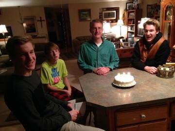 chris birthday and forgiveness